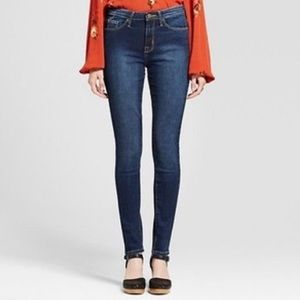 Mossimo Denim High Rise Skinny Jeans